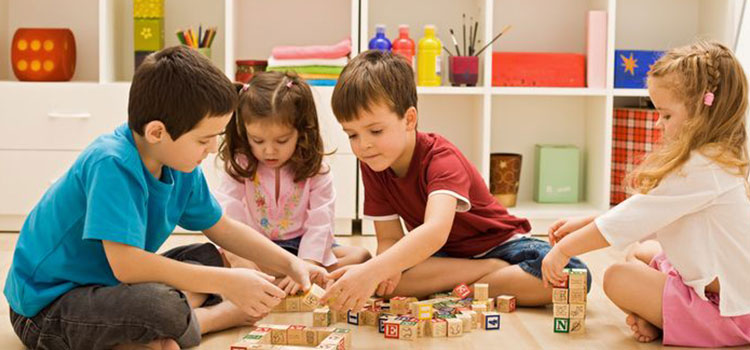Children have a natural ability to express themselves and learn through play...